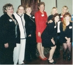 Girls of '69 in '99--Manhardt,Frenz,Moore,Dewees,Palmer,Bumblis,Trail,McCoy   THERE'S SPACE FOR 1000 PICTURES, SO FEE